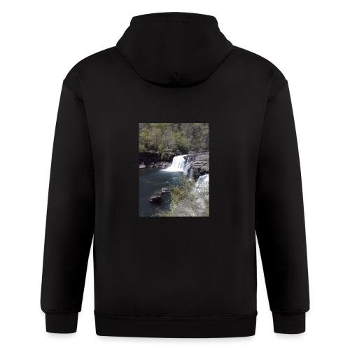 LRC waterfall - Men's Zip Hoodie