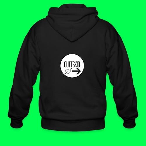 original logo - Men's Zip Hoodie