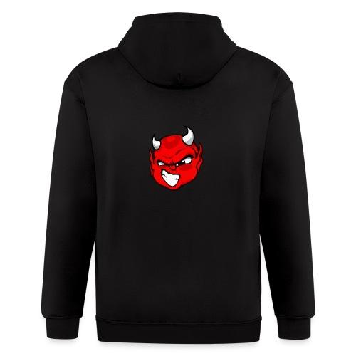 Rebelleart devil - Men's Zip Hoodie