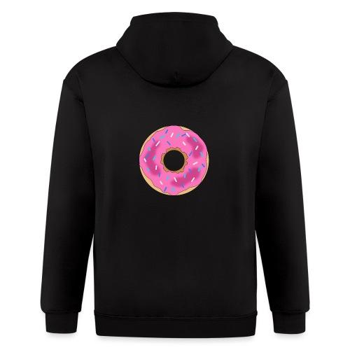 Donut - Men's Zip Hoodie