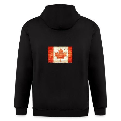 Canada flag - Men's Zip Hoodie