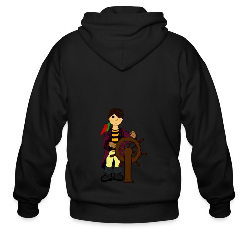 Alex the Great - Pirate - Men's Zip Hoodie