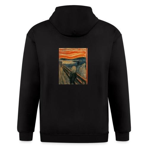 The Scream (Edvard Munch) - Men's Zip Hoodie