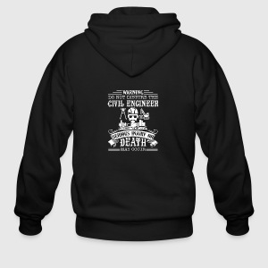 Civil Engineer Shirt - Men's Zip Hoodie