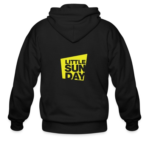 littleSUNDAY Official Logo - Men's Zip Hoodie