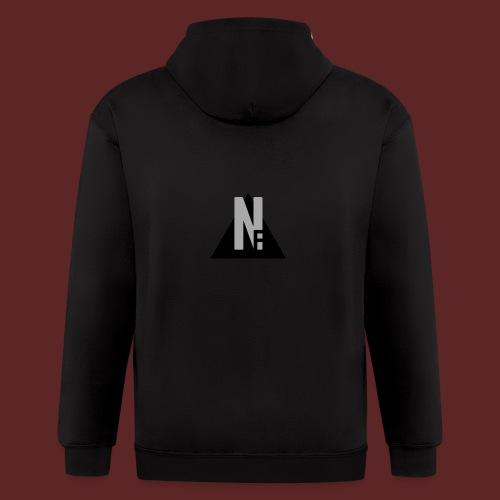 Basic NF Logo - Men's Zip Hoodie