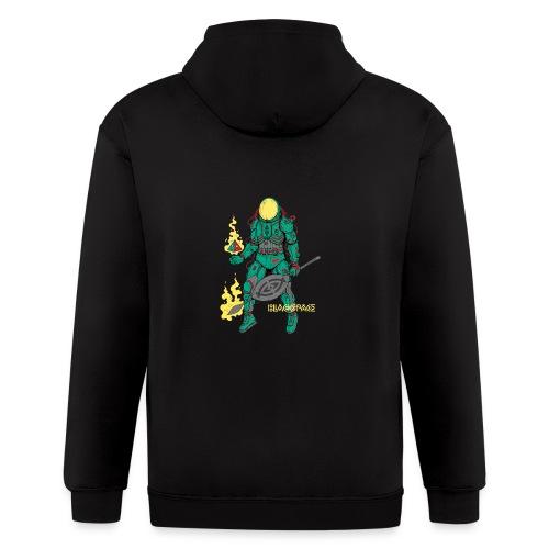Afronaut - Men's Zip Hoodie