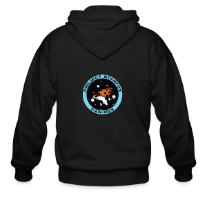 Project STARFOX Logo - Men's Zip Hoodie