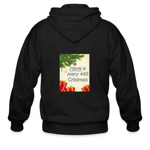 Have a Mary 445 Christmas - Men's Zip Hoodie
