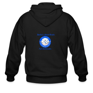 BarberShop Books - Men's Zip Hoodie