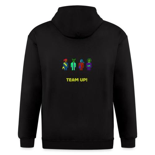 Spaceteam Team Up! - Men's Zip Hoodie