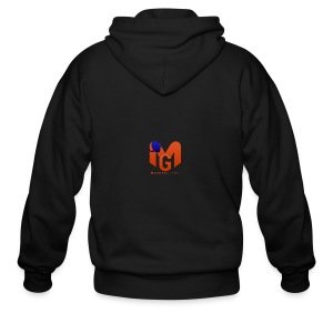 MaddenGamers MG Logo - Men's Zip Hoodie