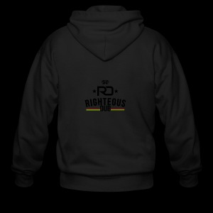 Righteous Dub Logo - Men's Zip Hoodie