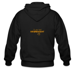 The Independent Life Gear - Men's Zip Hoodie