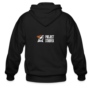 Project STARFOX Banner - Men's Zip Hoodie