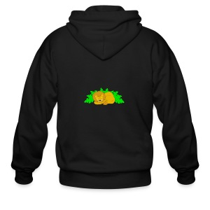 Sleeping Lion - Men's Zip Hoodie