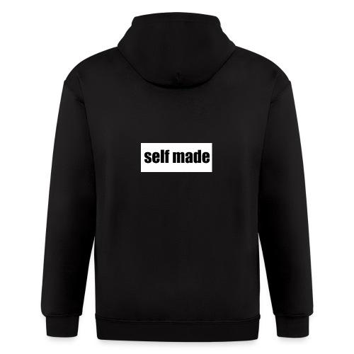 self made tee - Men's Zip Hoodie