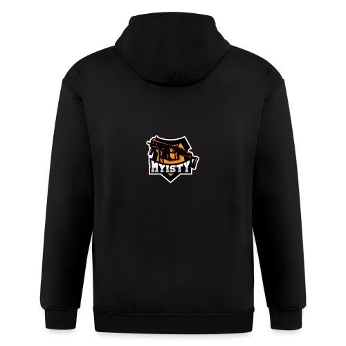Myisty logo - Men's Zip Hoodie