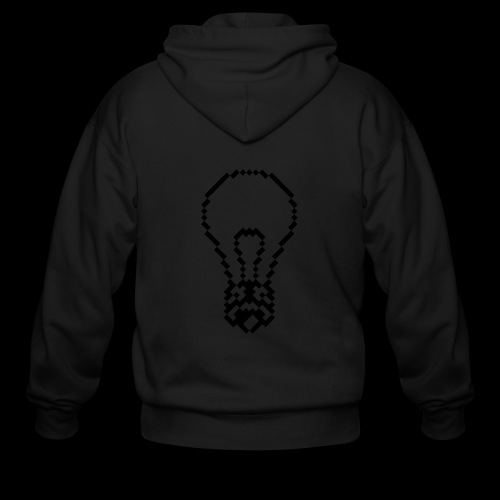 lightbulb - Men's Zip Hoodie