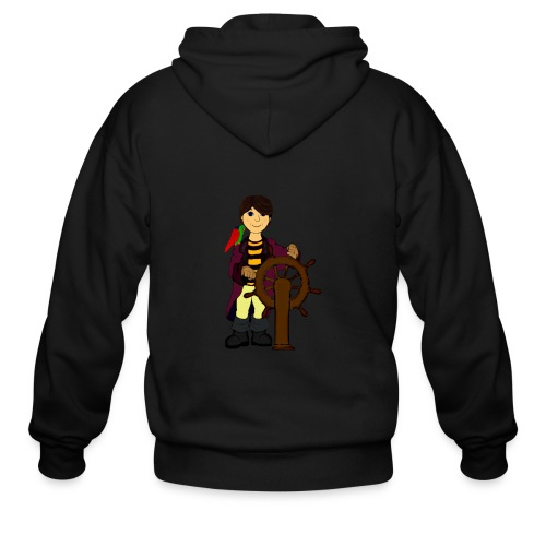 Alex the Great - Pirate - Men's Zip Hoodie