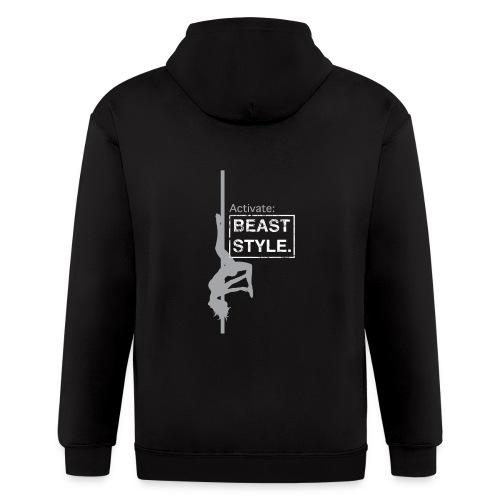 Activate: Beast Style - Men's Zip Hoodie