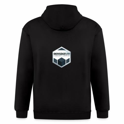 KnowledgeFlow Cybersafety Champion - Men's Zip Hoodie