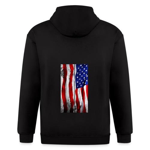 USA - Men's Zip Hoodie