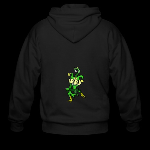 Three-Eyed Alien - Men's Zip Hoodie