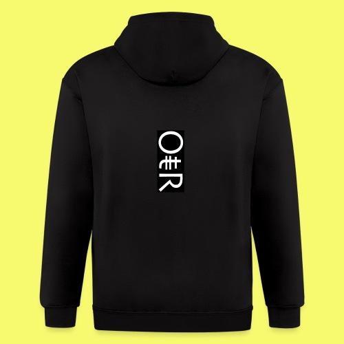 OntheReal coal - Men's Zip Hoodie