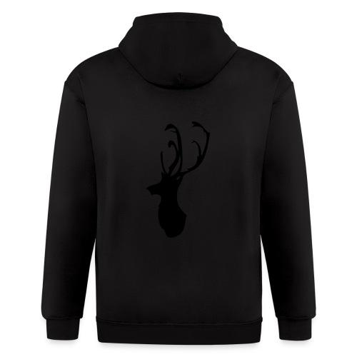 Mesanbrau Stag logo - Men's Zip Hoodie