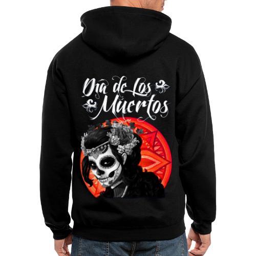 Dia de Los Muertos 01 - Men's Zip Hoodie