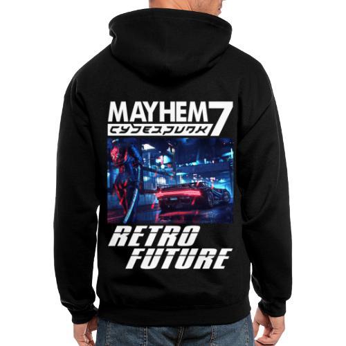 M7 Cyberpunk - Men's Zip Hoodie
