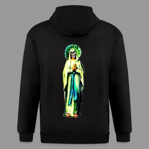 Cult Of Santa Muerte - Men's Zip Hoodie