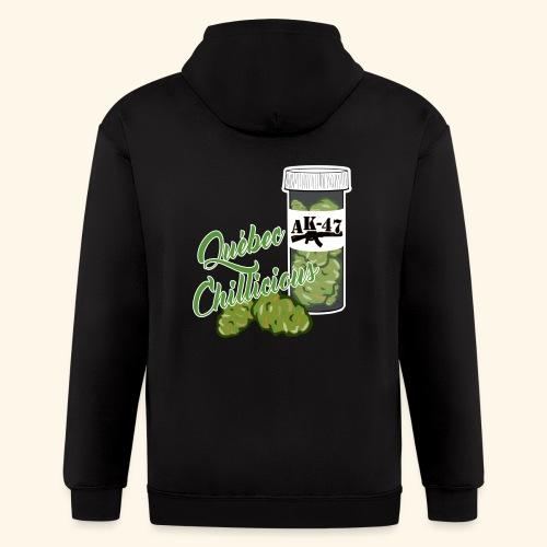 AK-47 Cannabis tshirt Québec Chillicious - Men's Zip Hoodie