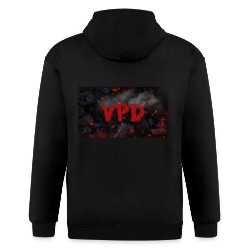 VPD Smoke - Men's Zip Hoodie