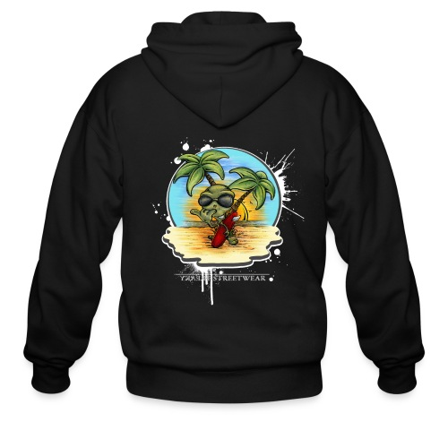 let's have a safe surf home - Men's Zip Hoodie