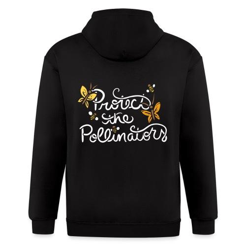 Protect the pollinators - Men's Zip Hoodie