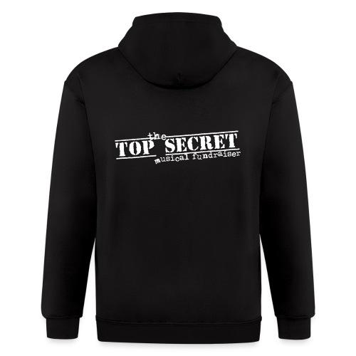 Top Secret Musical - Men's Zip Hoodie