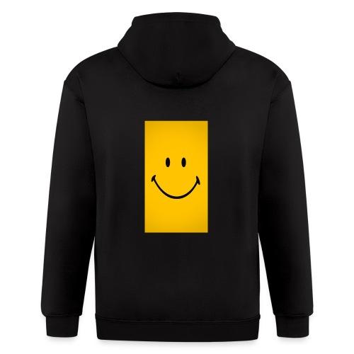 Smiley face - Men's Zip Hoodie