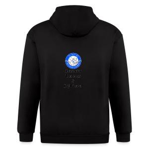 SB Seal Design - Men's Zip Hoodie