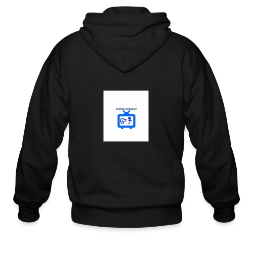 OdogVlogsTv Offical Logo - Men's Zip Hoodie