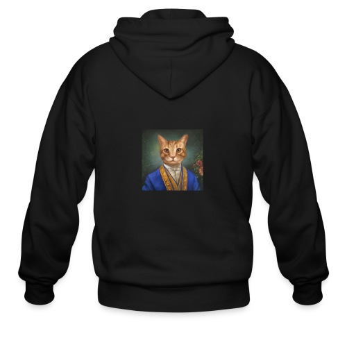 Don't let the suit fool you. - Men's Zip Hoodie