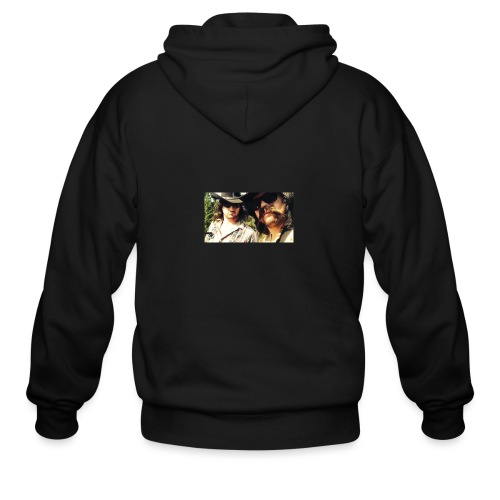 Jaw Thrust Cover Art - Men's Zip Hoodie