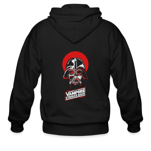 the Vampire Strikes Back - Men's Zip Hoodie