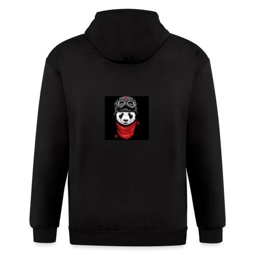 Panda - Men's Zip Hoodie