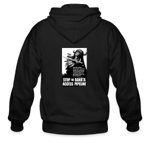 Stop the Dakota Access Pipe Line Prophecy - Men's Zip Hoodie