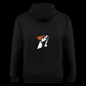 STARFOX Minimalist Logo - Men's Zip Hoodie