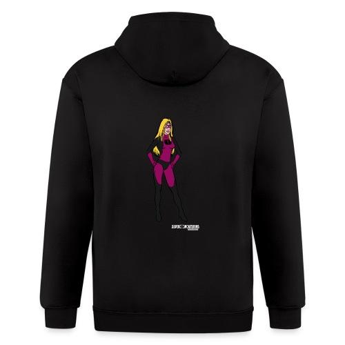 Superhero 5 - Men's Zip Hoodie