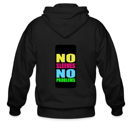 neonnosleevesiphone5 - Men's Zip Hoodie