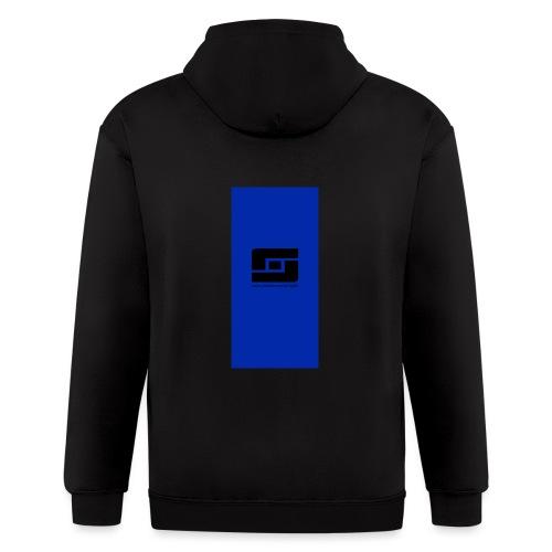 blacks i5 - Men's Zip Hoodie